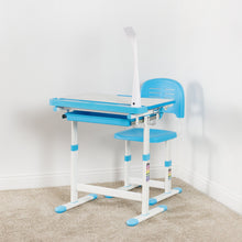 Load image into Gallery viewer, Student Height Adjustable Desk - VIVO - DESK-V303 Deluxe Height Adjustable Children's Desk & Chair
