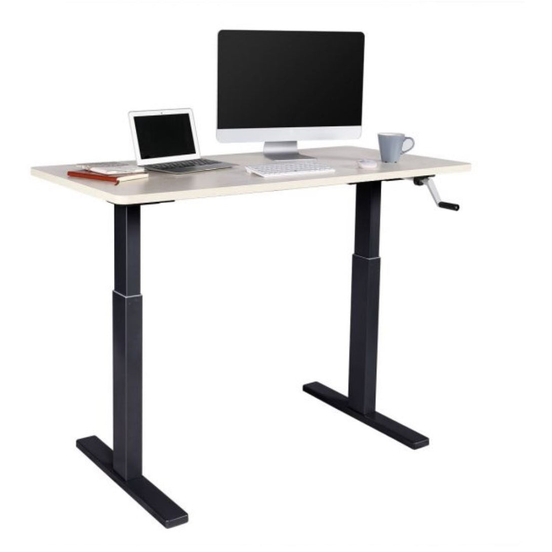 FlexiSpot - Manual Crank Adjustable Desk - myergodesk
