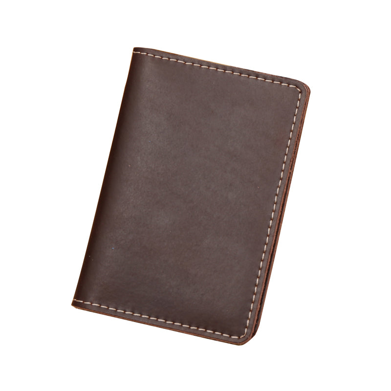 Classic Small Leather Card Holder Wallet