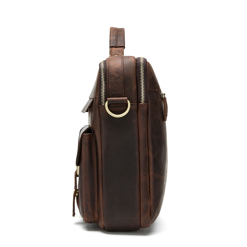 Weekender Retro Leather Bag