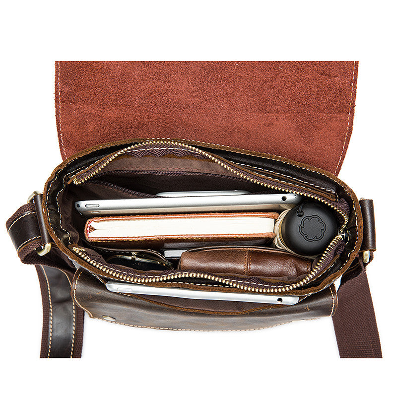 Vintage Cross Body Shoulder Leather Bag
