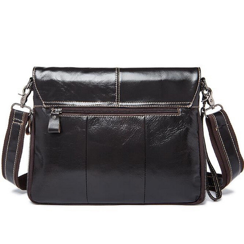 Classic Messenger Leather Bag