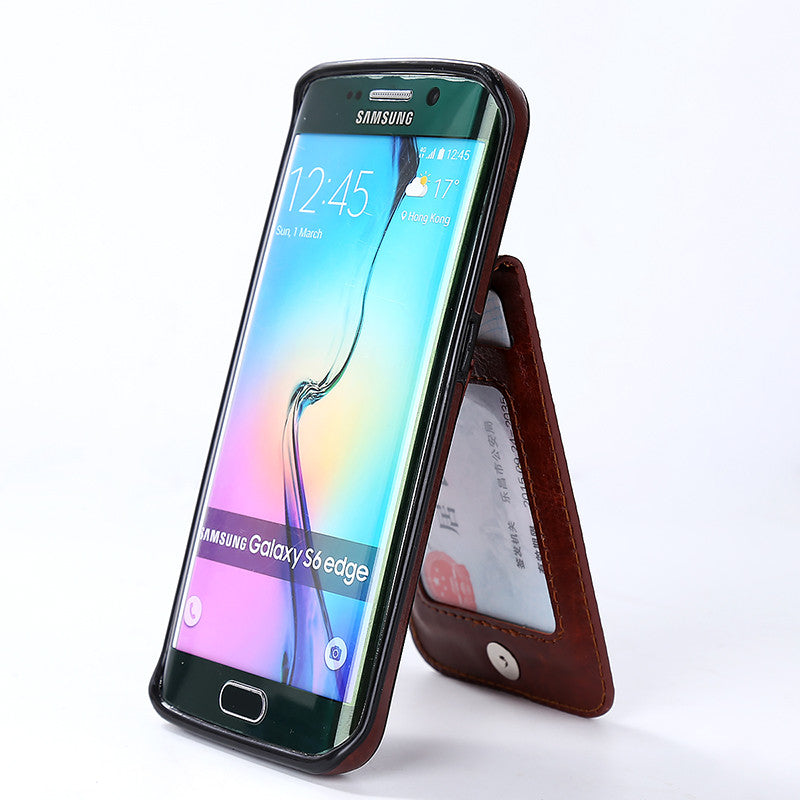 Samsung Vertical Flip Wallet Case