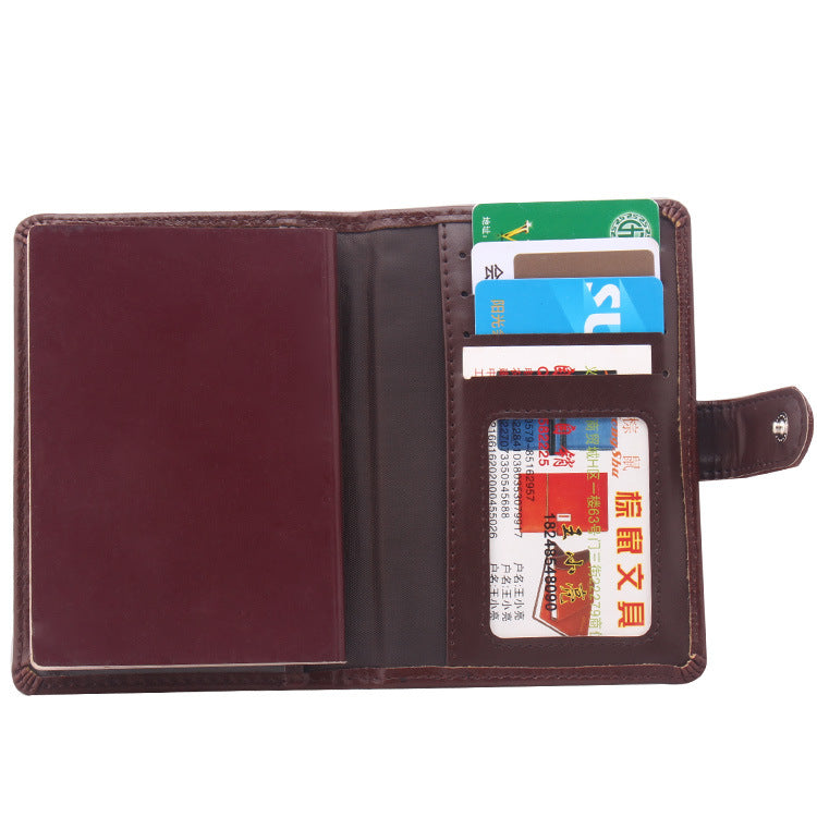 Classic Design Leather Wallet
