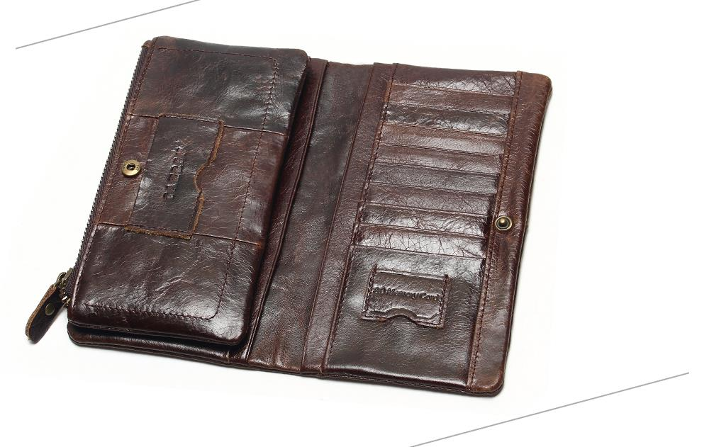 Classic Long Leather Wallet