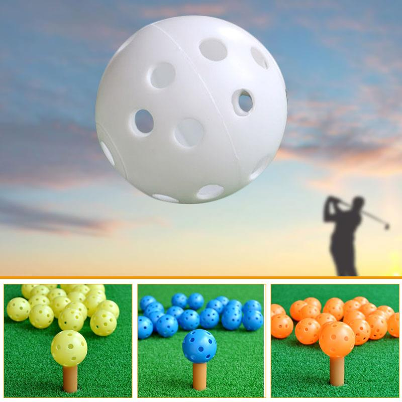 10Pcs Golf Training Aid Balls