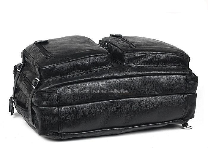 Fashionable Leather Duffle Traveling Bag