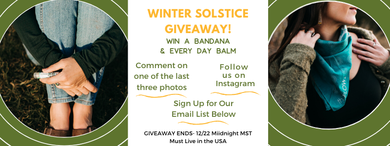 Winter Solstice Giveaway Rules