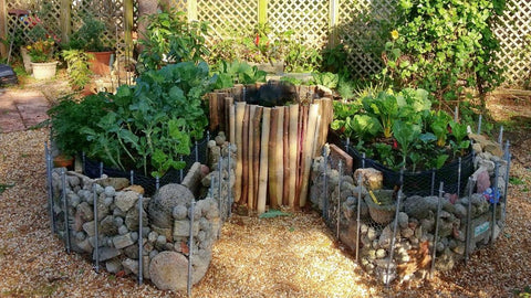 Keyhole Garden Bed