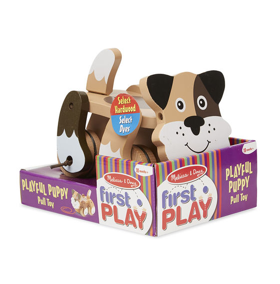 MD Playful Puppy Pull Toy