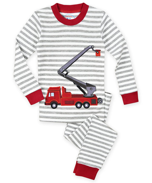 SP Fire Truck Pajamas