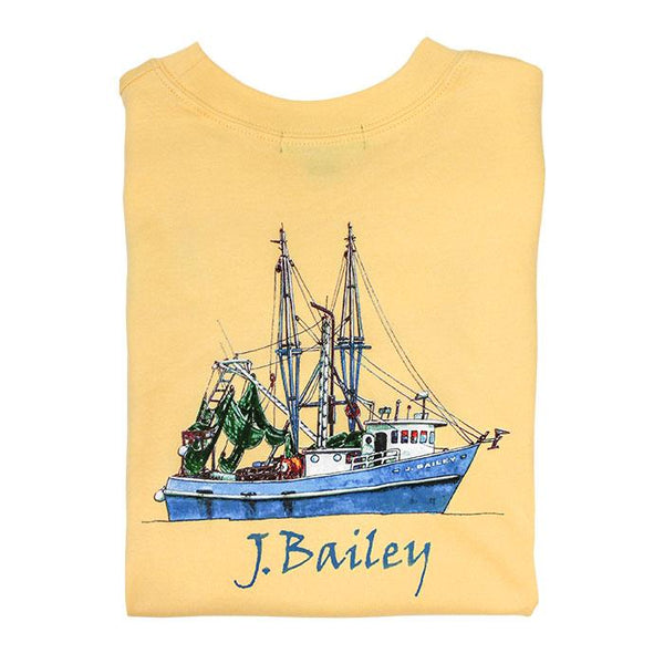 BY Shrimp Boat Tee