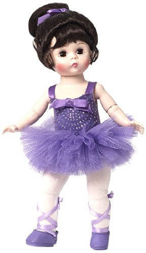 MA Pirouette In Purple 8 Inch Ballerina Doll