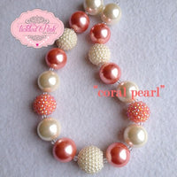 TPD Coral pearl Necklace