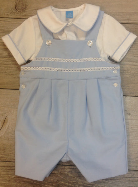 AK Blue Shortall W/Peter Pan Shirt 227