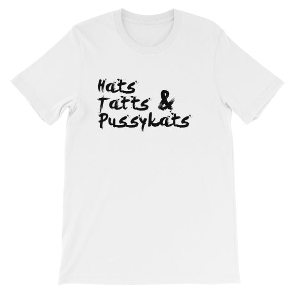 Hats Tatts & PussyKats Short-Sleeve Unisex T-Shirt
