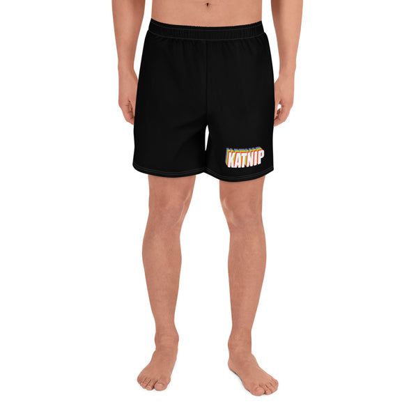 Katnip Vibes Men's Athletic Long Shorts