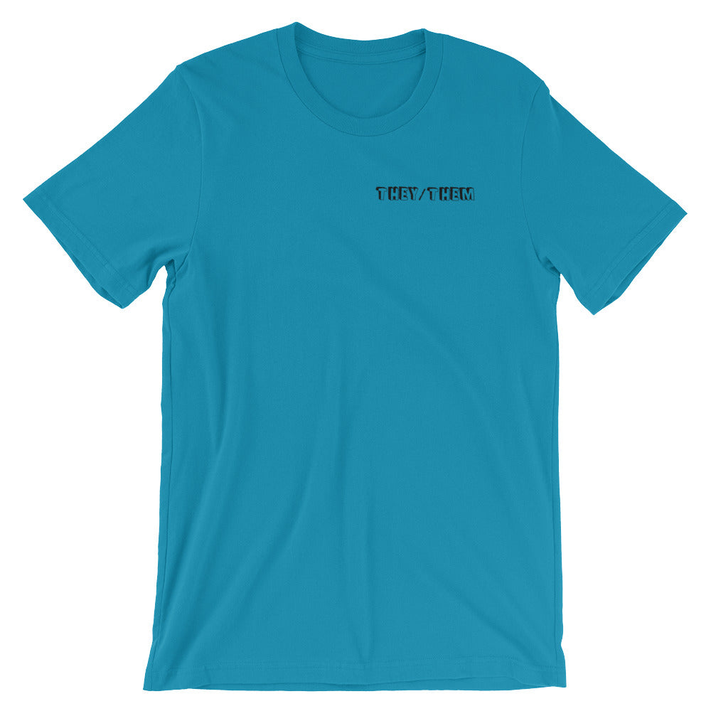They/Them Short-Sleeve Unisex T-Shirt