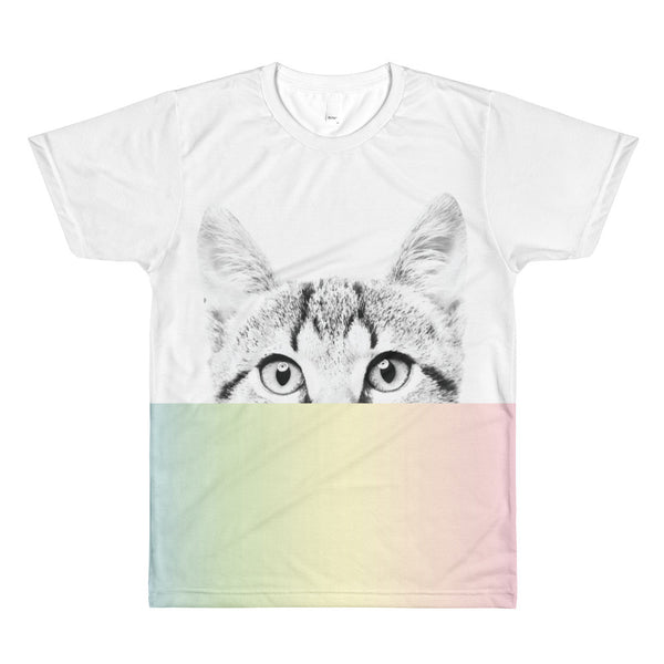 Pastel Sublimation men's crewneck t-shirt