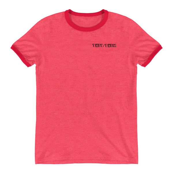 They/Them Ringer T-Shirt