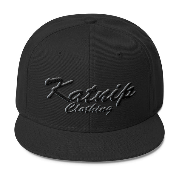 Katnip Clothing Wool Blend Snapback