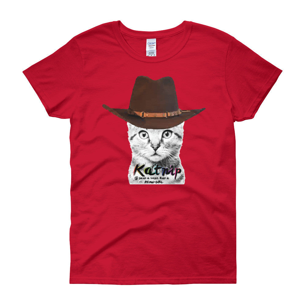 Meow-Girl Women's short sleeve t-shirt
