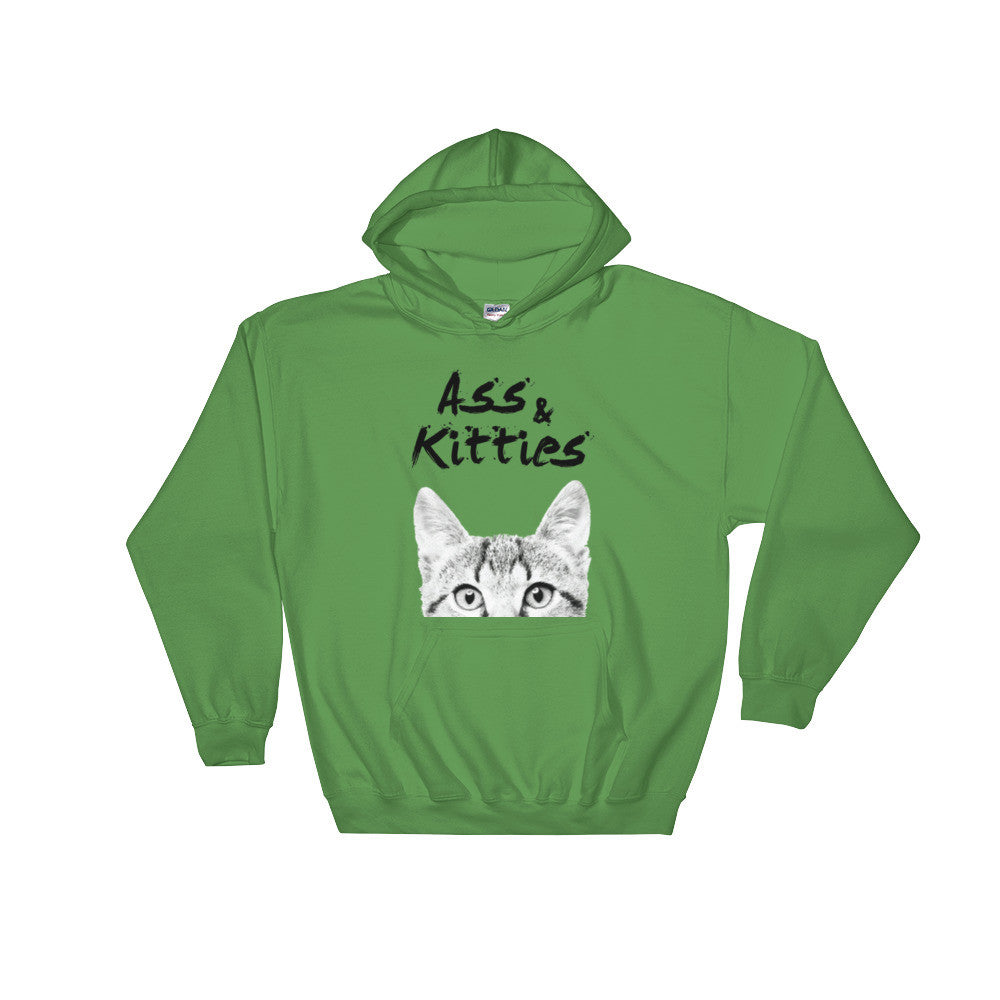 Ass & Kitties Hooded Sweatshirt