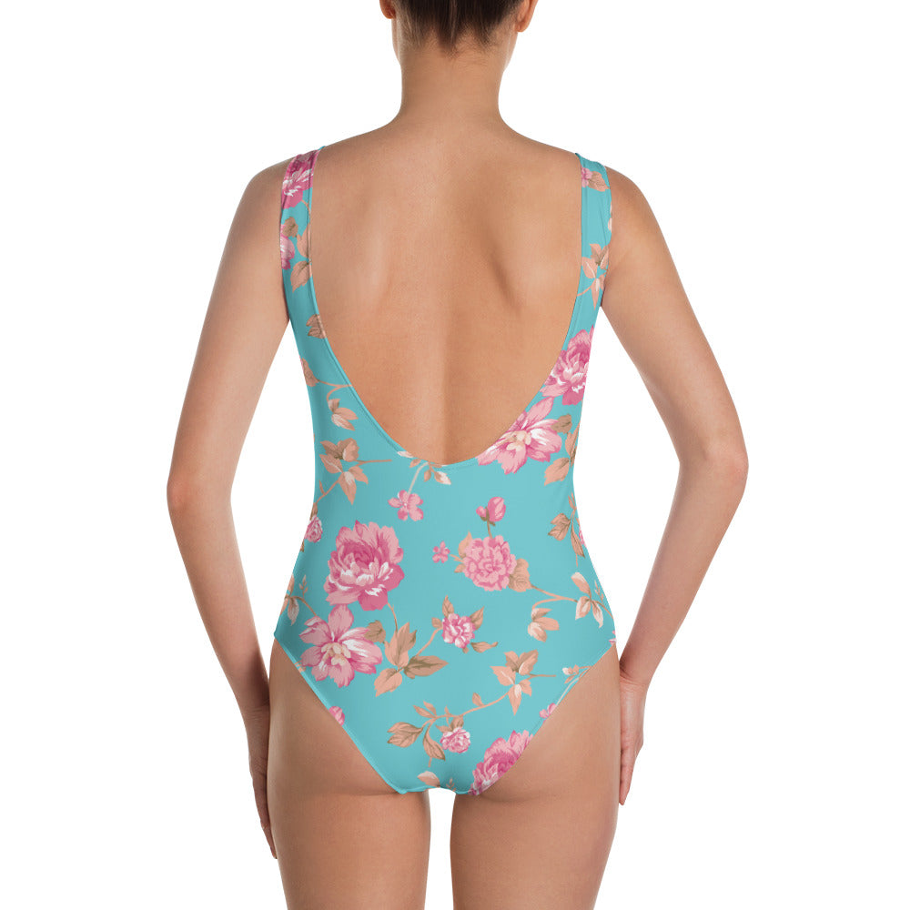 Floral One-Piece Swimsuit