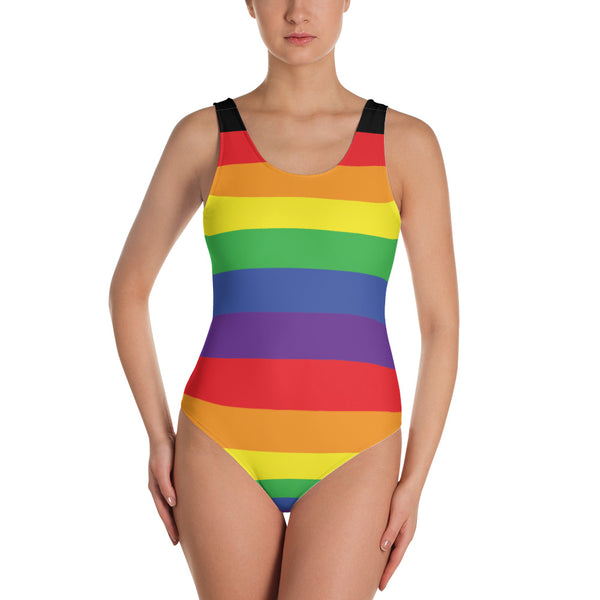 Rainbow One-Piece Swimsuit