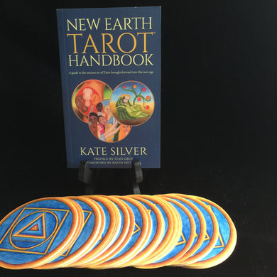 New Earth Tarot Handbook, by Kate Silver, BOOK ONLY