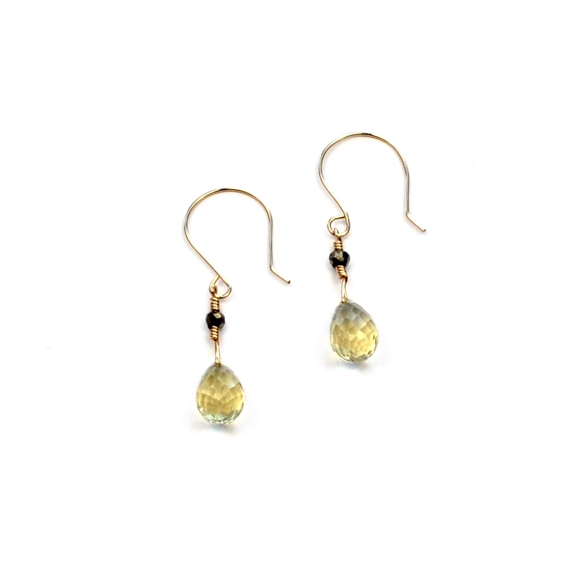 Lemon Quartz Earrings