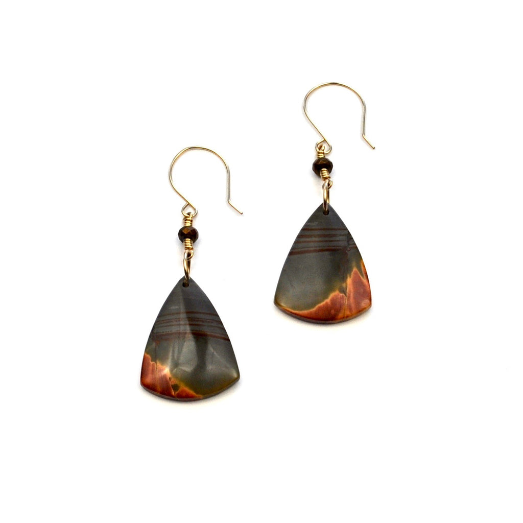 Red Creek Jasper Earrings