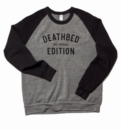 Deathbed Edition Logo Color-Block Sweatshirt
