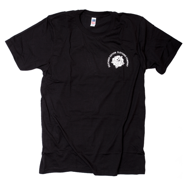 Deathbed Edition Made in USA black t-shirt front