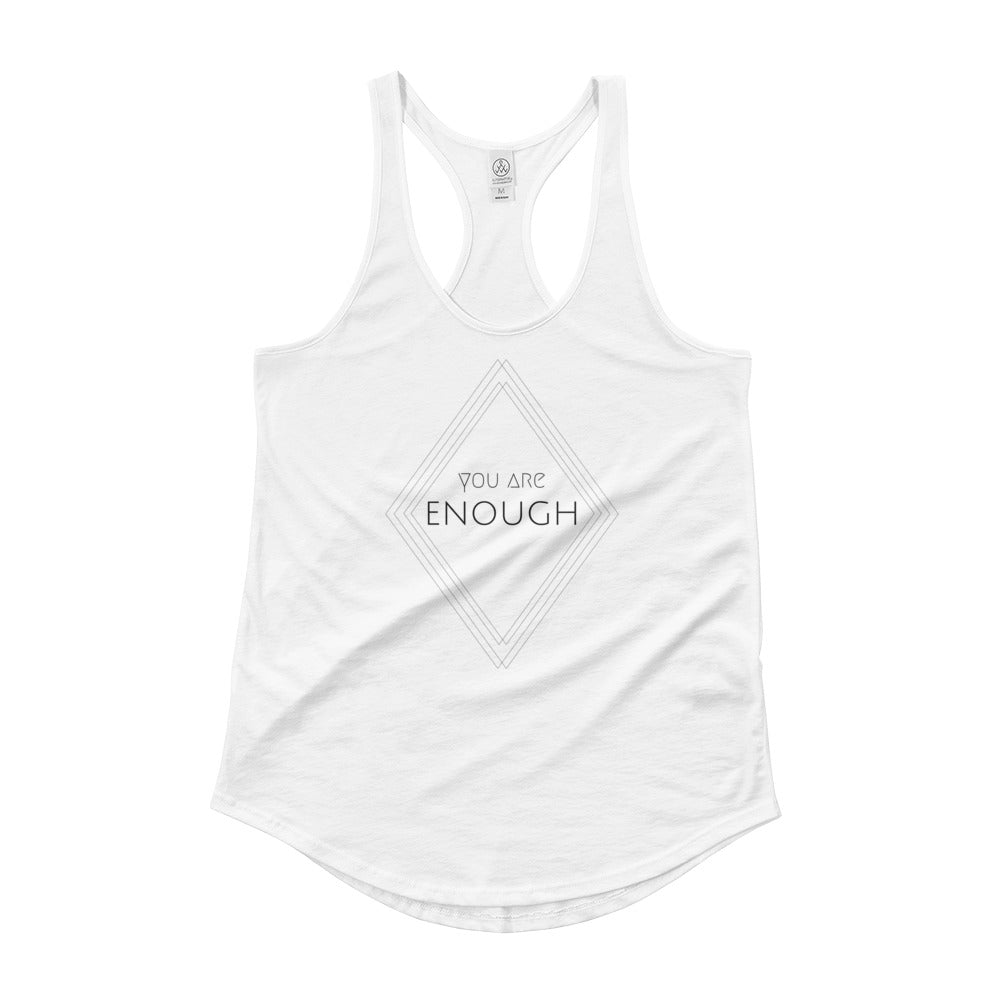 LIMITED TIME - You Are Enough - Women's 100% Cotton Tank