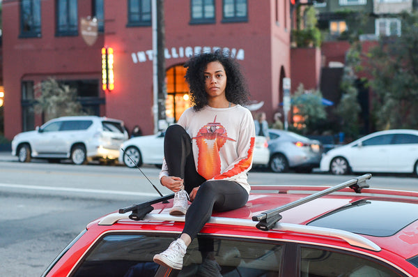 Saint Luis NYC Tee Silverlake Market Intelligentsia Sunset Afterburner Tee Vinatge for sale