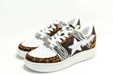 Bape Bapesta Animal Mix