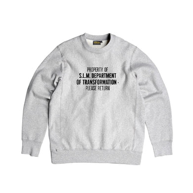 Dept Crewneck Fleece (Heather Grey) - Silverlake, crewneck - Vinatge, Silverlake Market - Designer