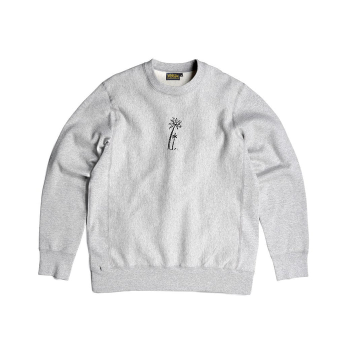 Feels Good Crewneck Fleece (Heather Grey) - Silverlake, crewneck - Vinatge, Silverlake Market - Designer