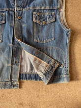 JC Penny Co. Ranch Craft Selvedge Denim Vest - Silverlake, Denim Jacket - Vinatge, Silverlake Market - Designer