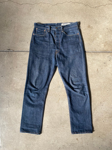 Kapital Buckle Back Denim Pants - Silverlake, Denim - Vinatge, Kapital - Designer