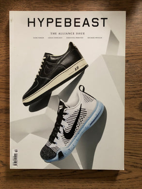 Hypebeast The Alliance Issue Sneaker Cover - Silverlake, Magazine - Vinatge, Hypebeast - Designer