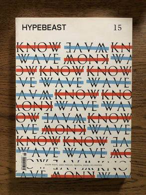 Hypebeast The Foundation Issue Know Wave - Silverlake, Magazine - Vinatge, Hypebeast - Designer