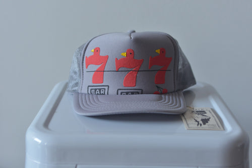 Kapital Kountry Battery Bird Luck 7 Trucker Hat - Silverlake, Hat - Vinatge, Kapital - Designer