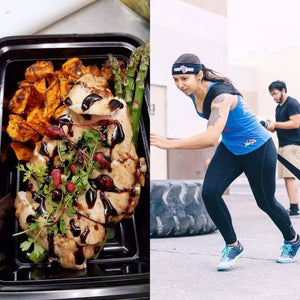 Weight Plates Las Vegas Meal Prep | A-Bomb Balsamic Chicken