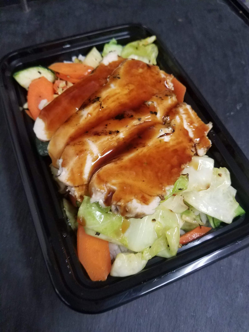 Weight Plates Las Vegas Meal Prep | Chicken Teriyaki Bowl