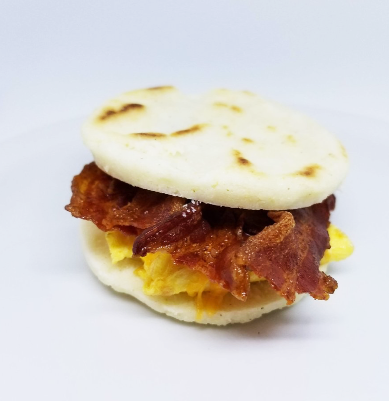 Weight Plates Las Vegas Meal Prep | Bacon and Egg Spanish Muffin