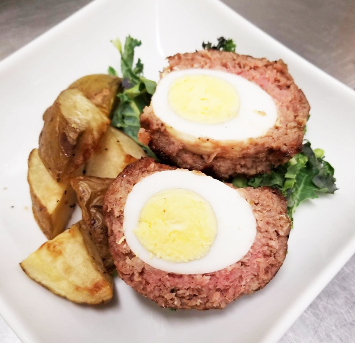 Weight Plates Las Vegas Meal Prep | Breakfast Scotch Egg