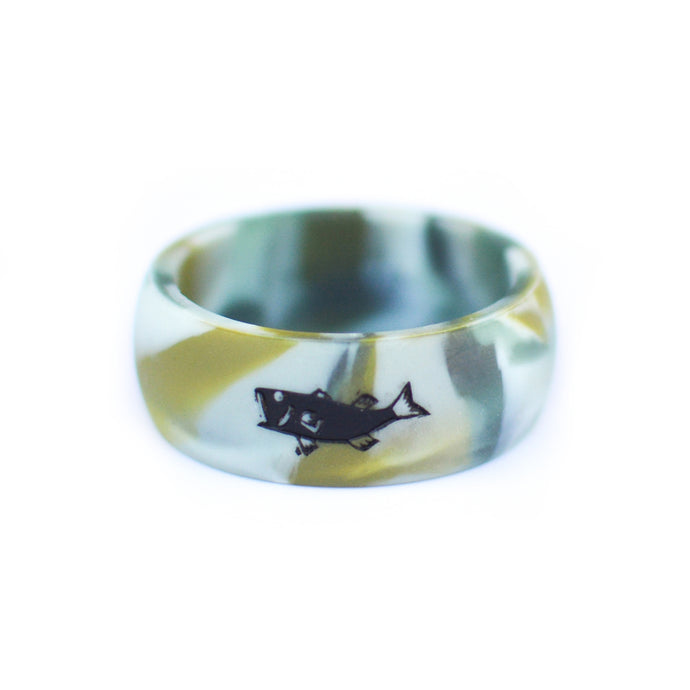Instynct Men S Silicone Wedding Rings For Fishermen And