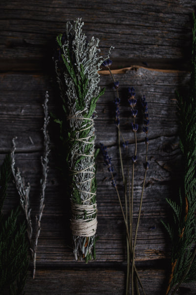 Smudge Stick - White Sage / Cedar